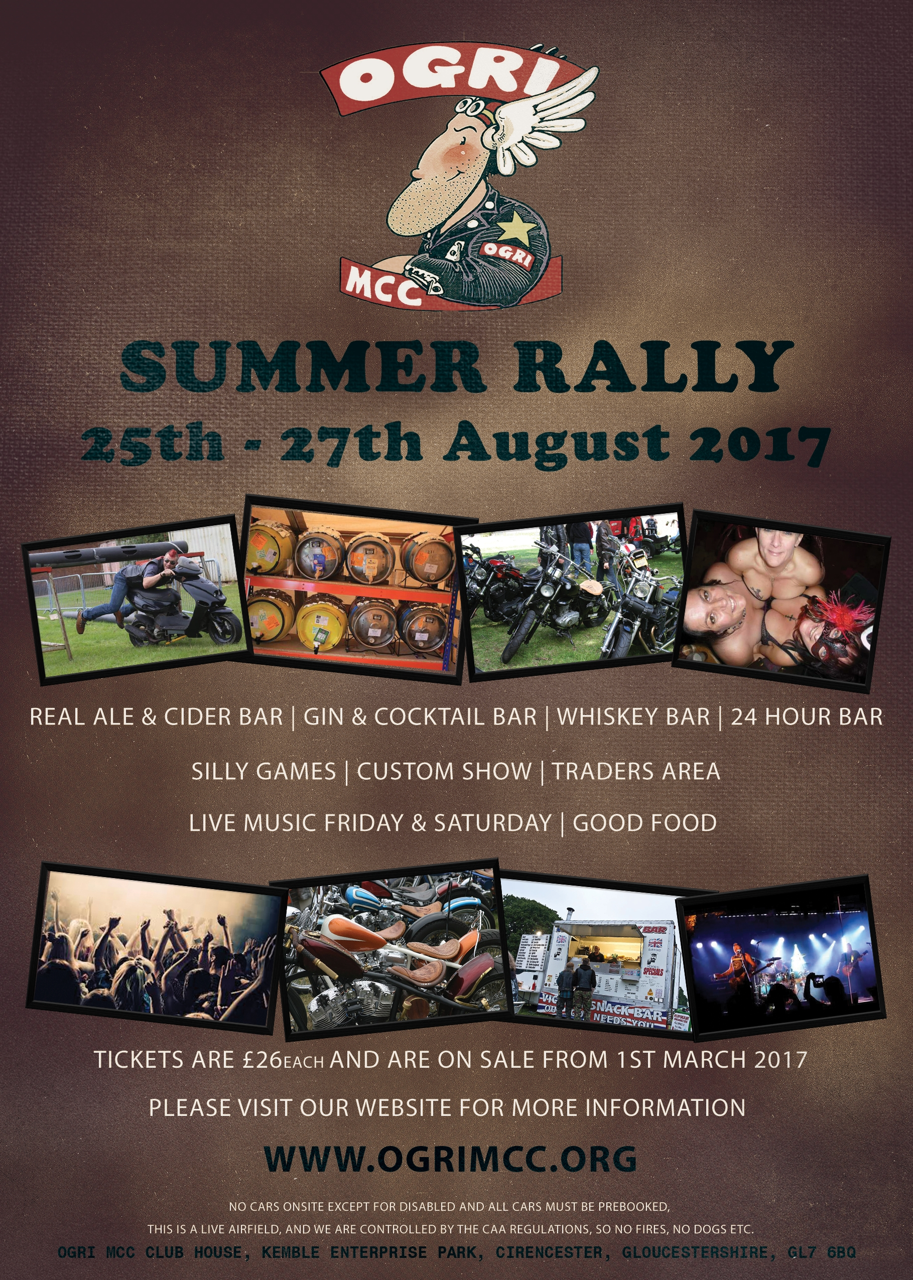 OGRI MCC Summer Rally 2017 Flyer