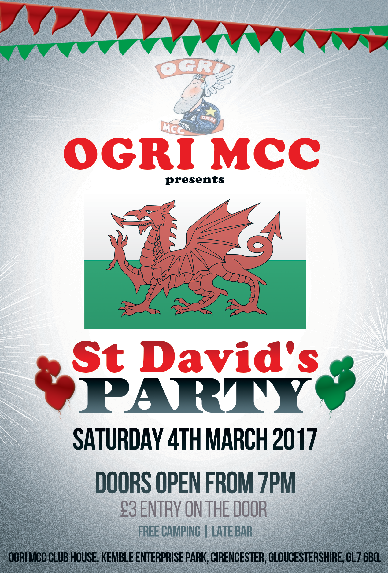 4th March Open Party