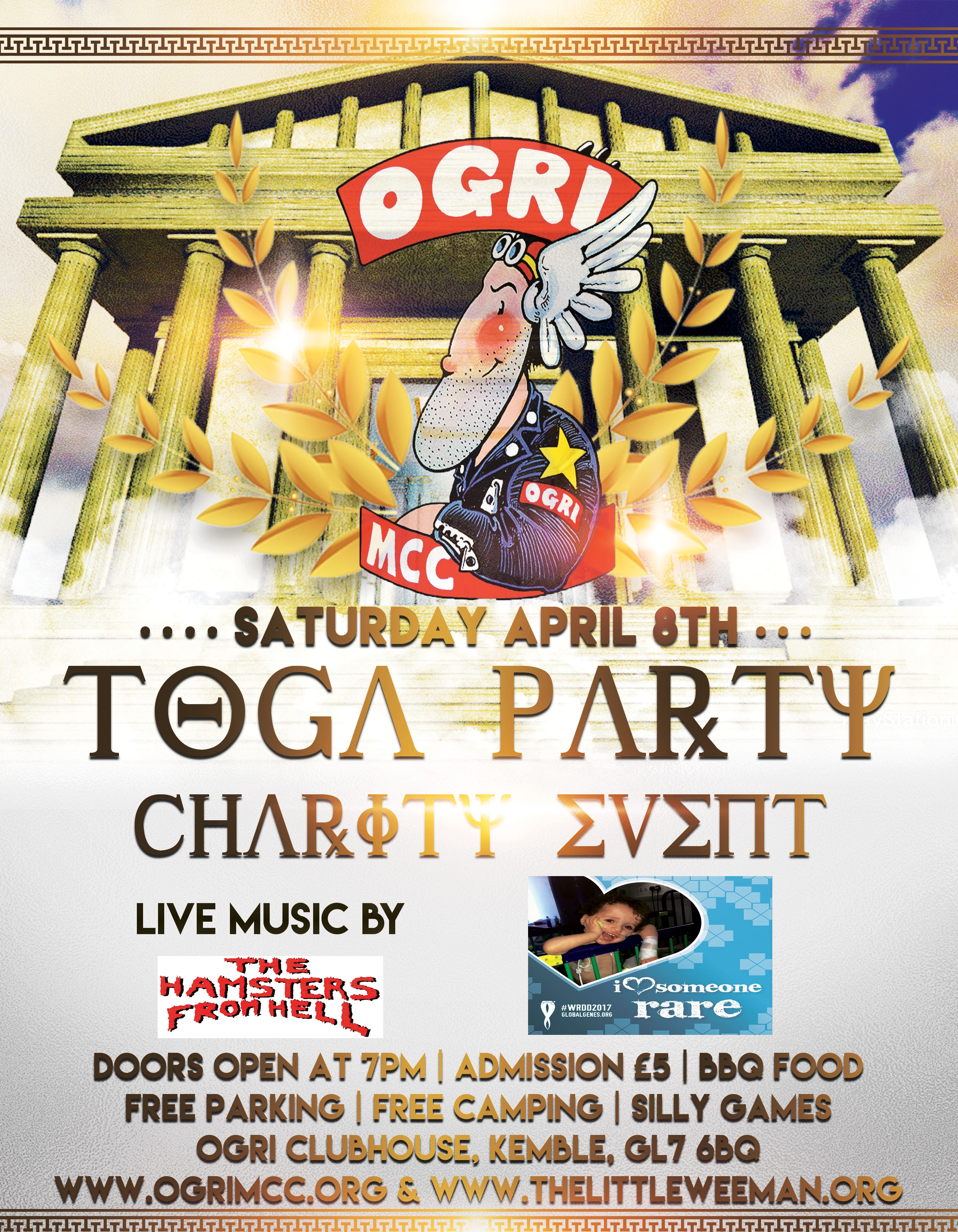 OGRI MCC Charity Toga Party image