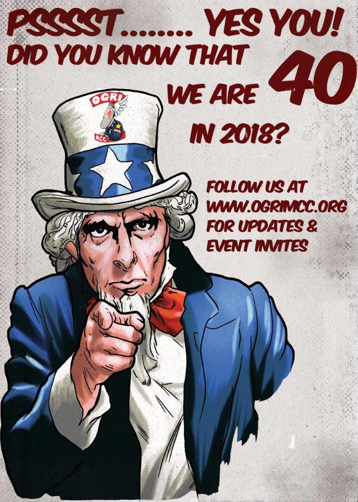 40th Info Poster