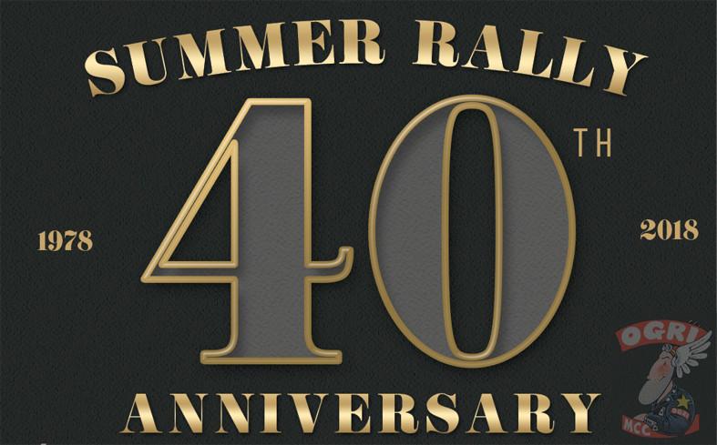 ticket header Summer Rally 2018