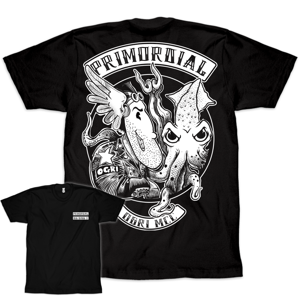 Primordial Radio Big Bang 2 t-shirt