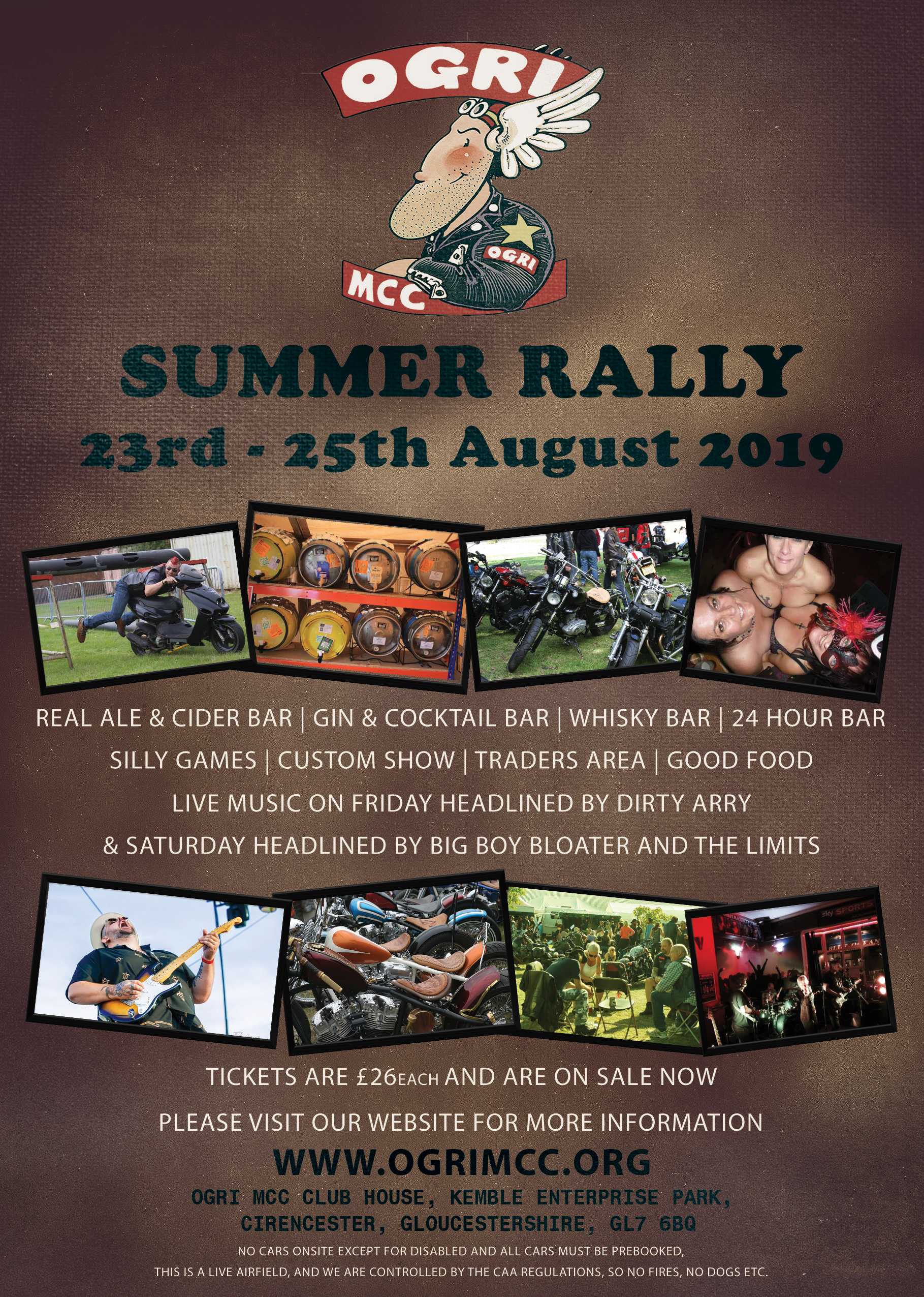 OGRI MCC Summer Rally 2019 Flyer