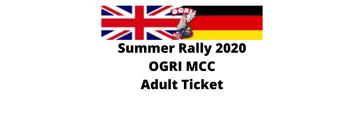 Summer Rally Ticket Header 2020
